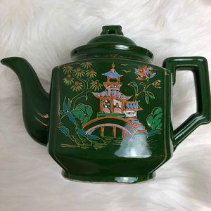 Mid Century Japanese Hand painted Teapot